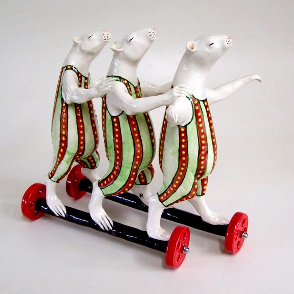 commission sculpture three blind mice