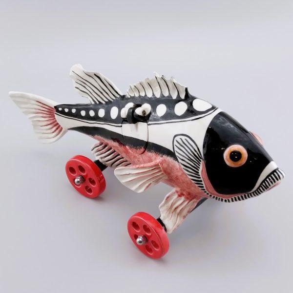 fish on wheels