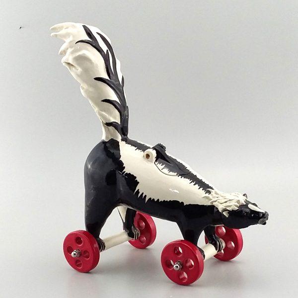 skunk on wheels